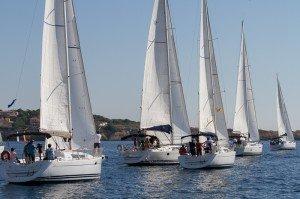 La flotte au depart