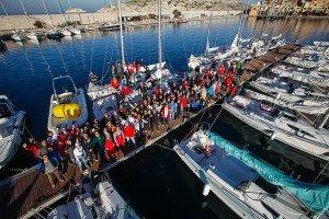 Rencontres Sportives Nationales de Voile Habitable CCAS à Marse